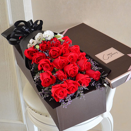 11朵玫瑰花花束 全国送花服务