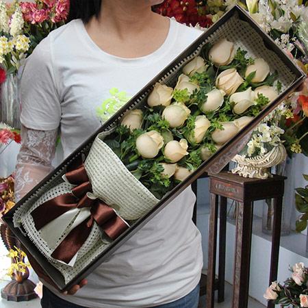 法式玫瑰花礼盒