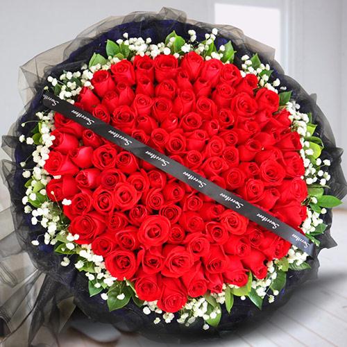 99朵红玫瑰花束 天长地久的爱