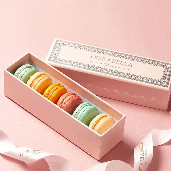法国马卡龙12枚礼盒 手工甜点