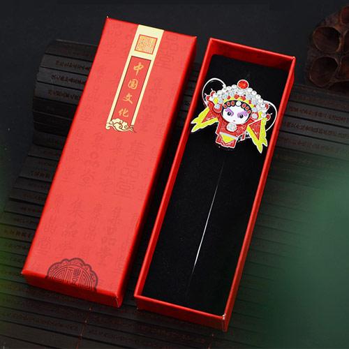 京剧脸谱书签 中国风出国礼物