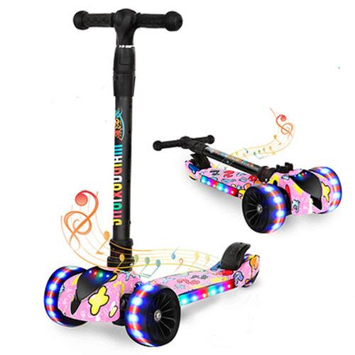 儿童四轮蛙式滑板车 孩子户外玩具