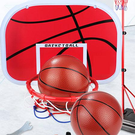 儿童可升降篮球架玩具