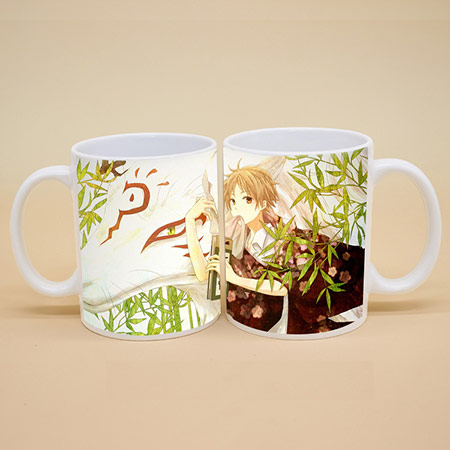 DIY印照片变色杯定制 陶瓷魔术杯