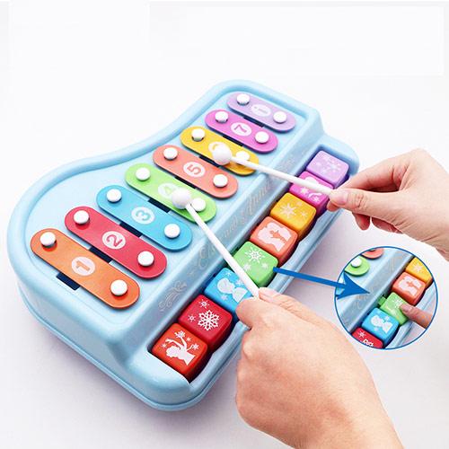 儿童欢乐手敲琴 婴儿益智音乐玩具