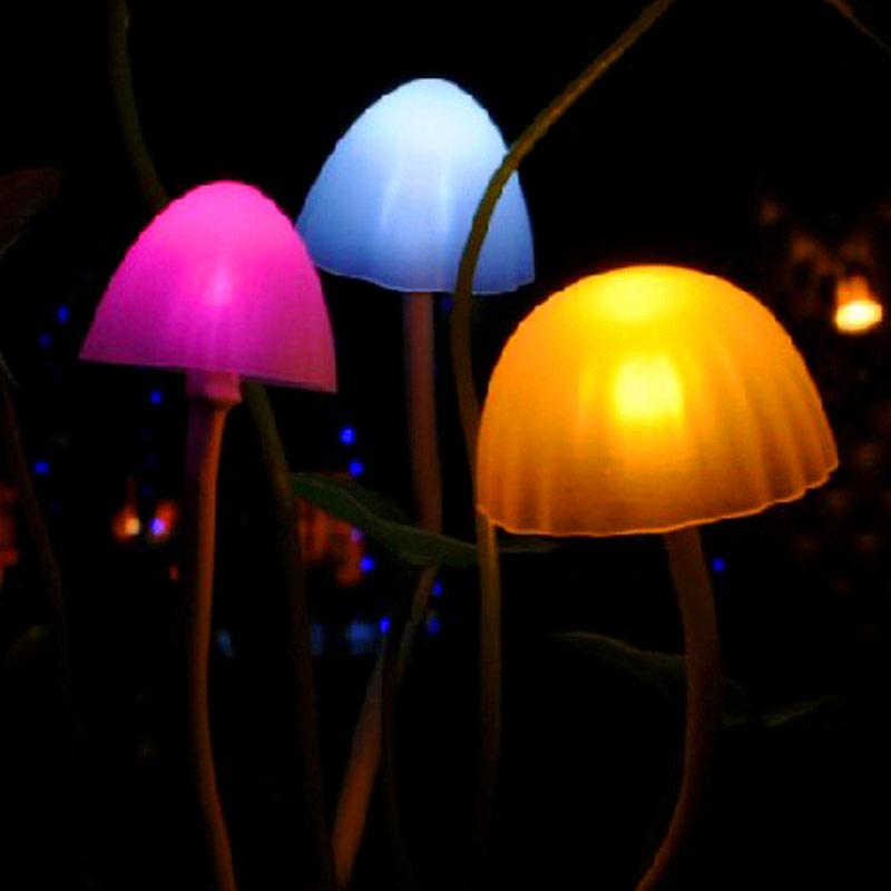 阿凡达光控感应蘑菇灯