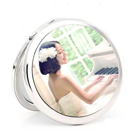 DIY定制照片便携化妆镜