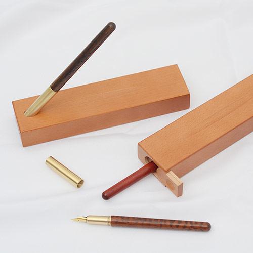 红木钢笔笔套礼盒 个性刻字