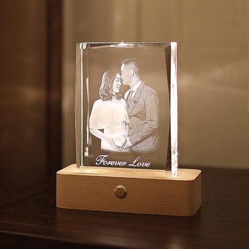 丘比特之箭创意结婚水晶定制
