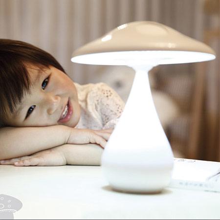 负离子空气净化蘑菇灯