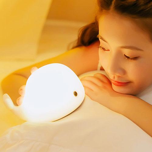 百变耳机台灯 触摸充电小夜灯