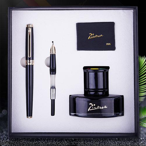 毕加索钢笔墨水礼盒 个性刻字