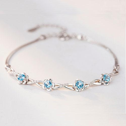 施华洛世奇水晶星座手链