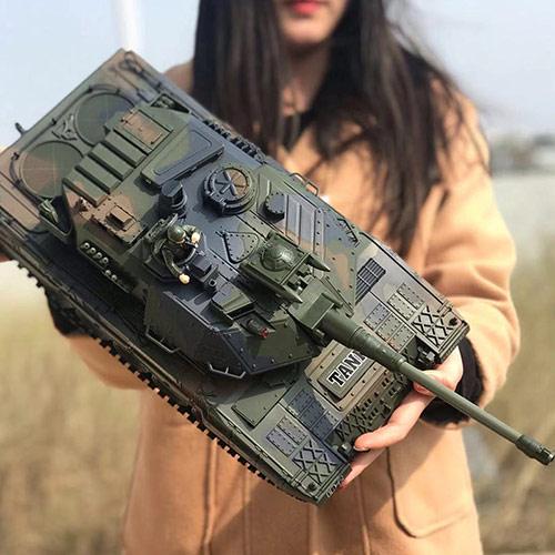 超大遥控仿真坦克 男孩玩具