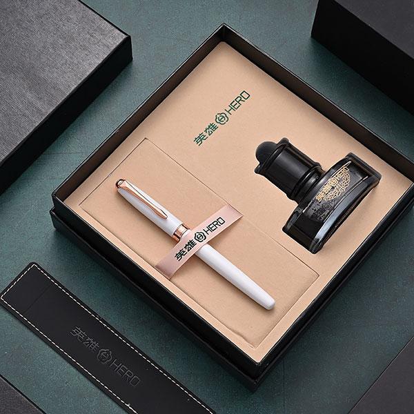 英雄钢笔墨水礼盒