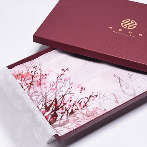 上海故事天然真丝围巾