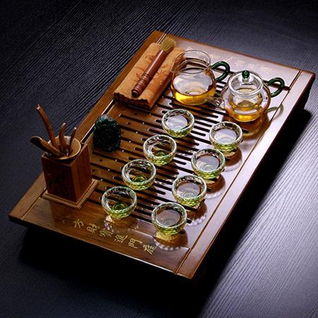 陶瓷功夫茶具套装 定制礼盒