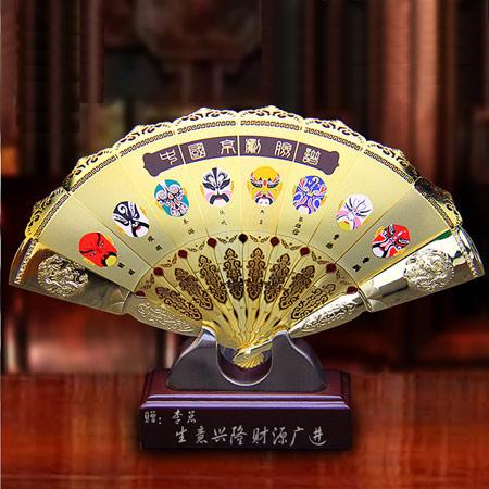 中国风男士丝绸折扇 工艺礼品扇
