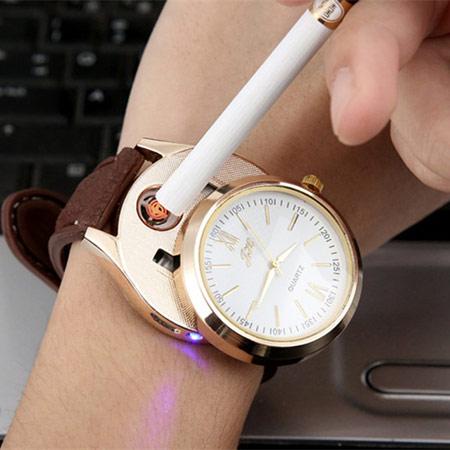 创意手表充电打火机