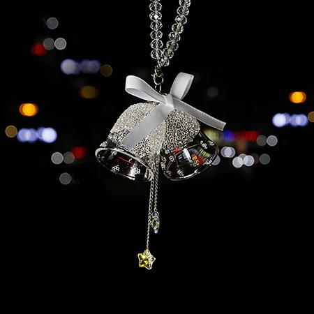 水晶琉璃铃铛 汽车保平安挂饰