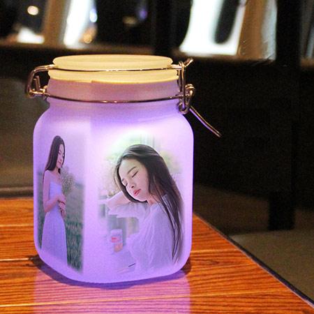 DIY图案定制阳光罐