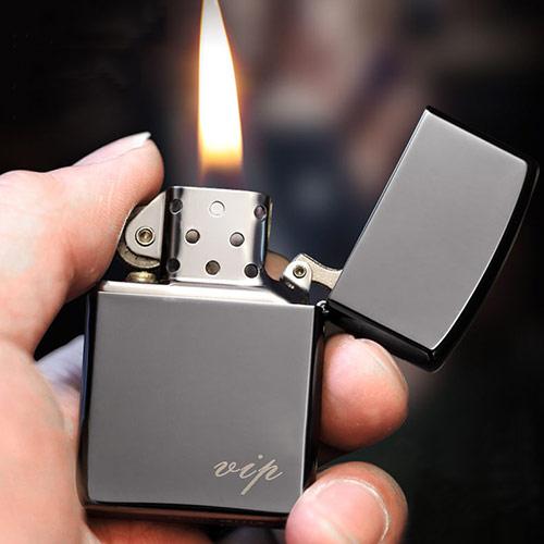 真金电镀电弧打火机 点烟器