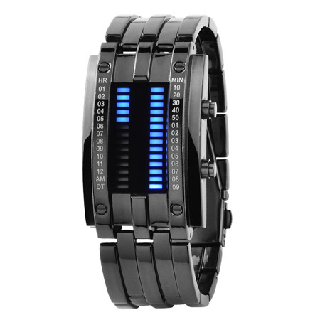 LED创意手腕手表 个性学生表