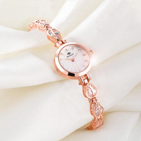 聚利时奢华镶钻女表 时尚腕表