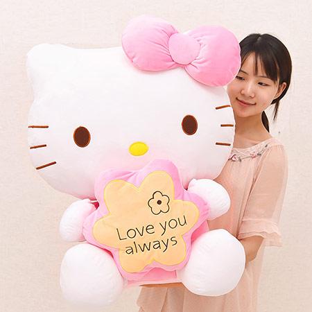 Hello Kitty凯蒂猫毛绒公仔