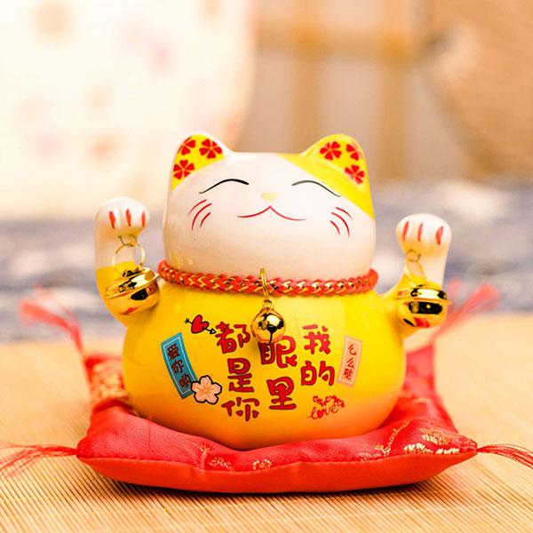 日本送福招财猫