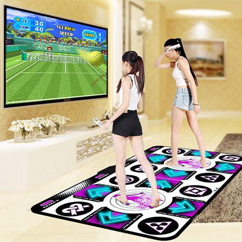 无线体感双人游戏跳舞毯
