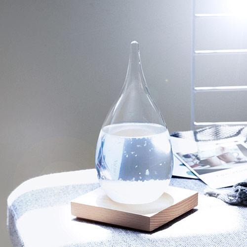 创意天气预报瓶 风暴预测瓶