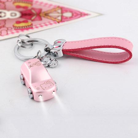 Kitty猫女士汽车钥匙扣 个性刻字