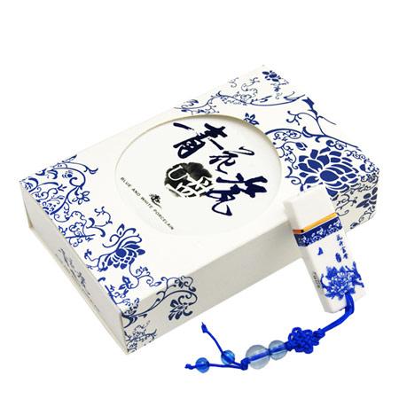 青花瓷中国风创意U盘