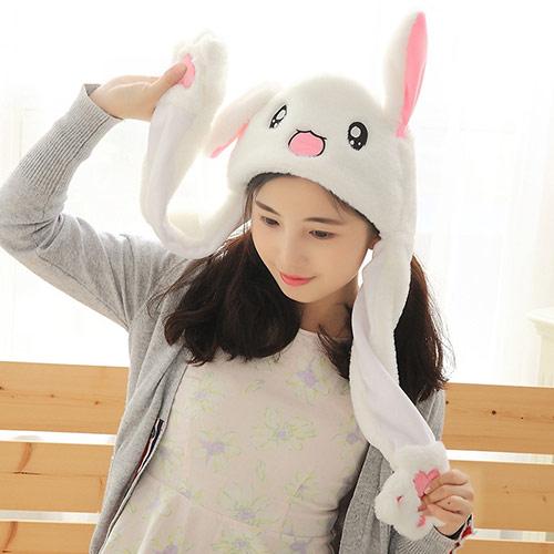 韩版兔毛针织帽 贝蕾帽