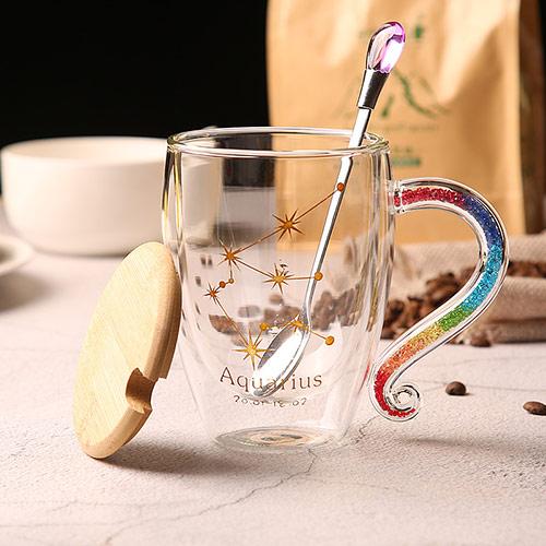 白头偕老相片变色杯 陶瓷情侣杯
