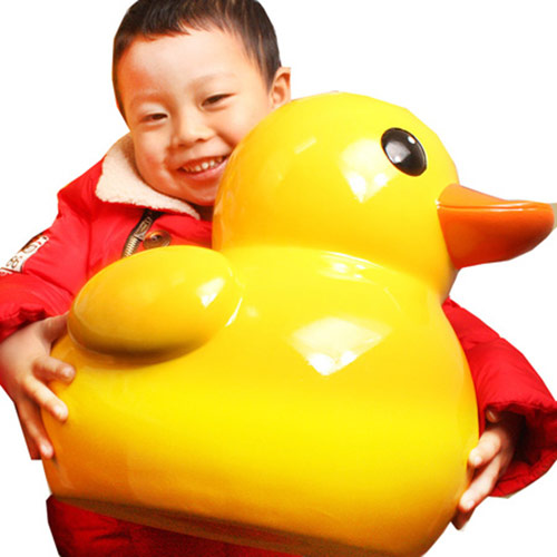 大黄鸭超大树脂存钱罐 个性刻字