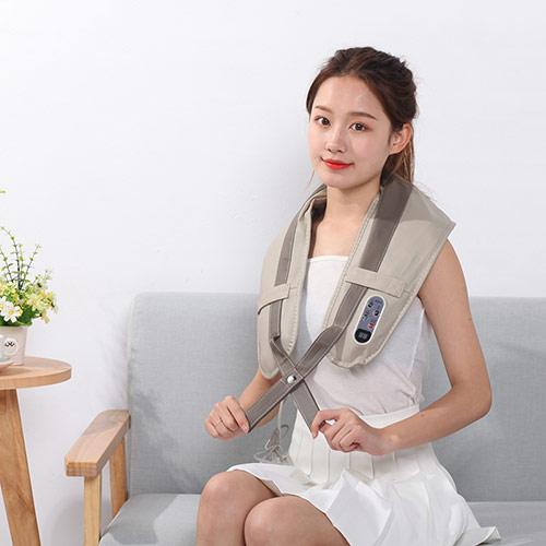 多功能电动颈肩按摩器