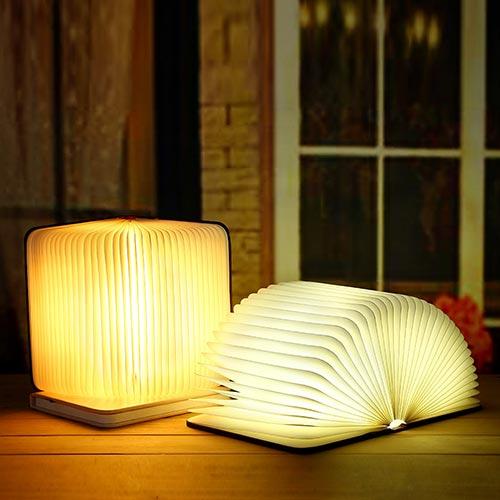 创意木质LED书灯