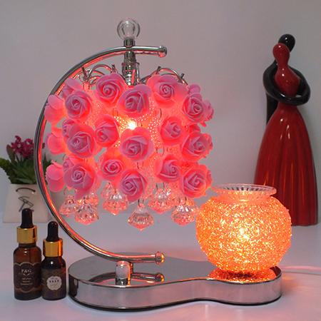 玫瑰挂珠奢华香薰灯 浪漫夜灯