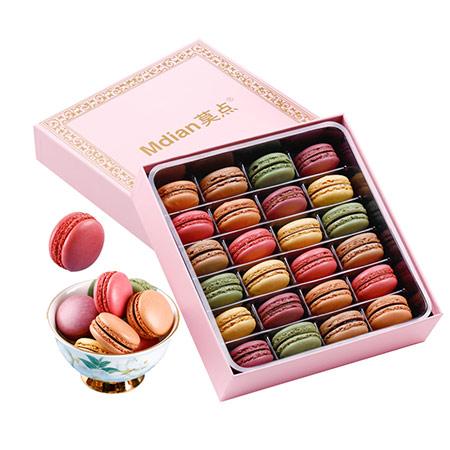 法式马卡龙高档甜点礼盒
