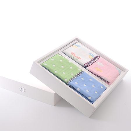 创意蛋糕毛巾礼盒 福利礼品