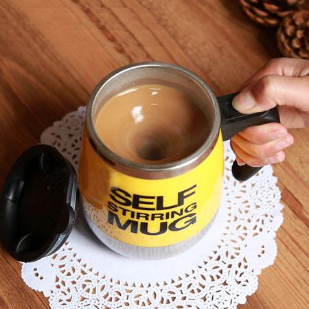 全自动懒人搅拌杯垫 咖啡杯