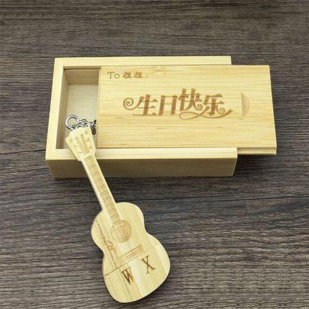 创意小提琴可爱U盘 女生优盘