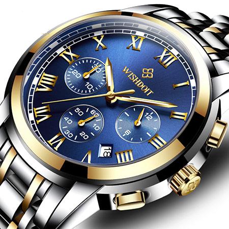 卡西欧经典商务手表 石英腕表